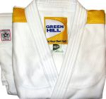 "Кимоно дзюдо ""Professional"" IJF Green Hill (белое)"